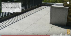 granit terrasse reinigen