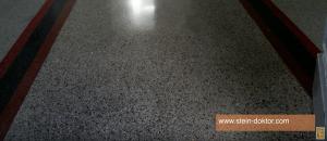 Wie man einen Terrazzo Fußboden restauriert