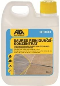 Marmor reinigen Berlin - saurer Grundreiniger - Fila-Deterdek