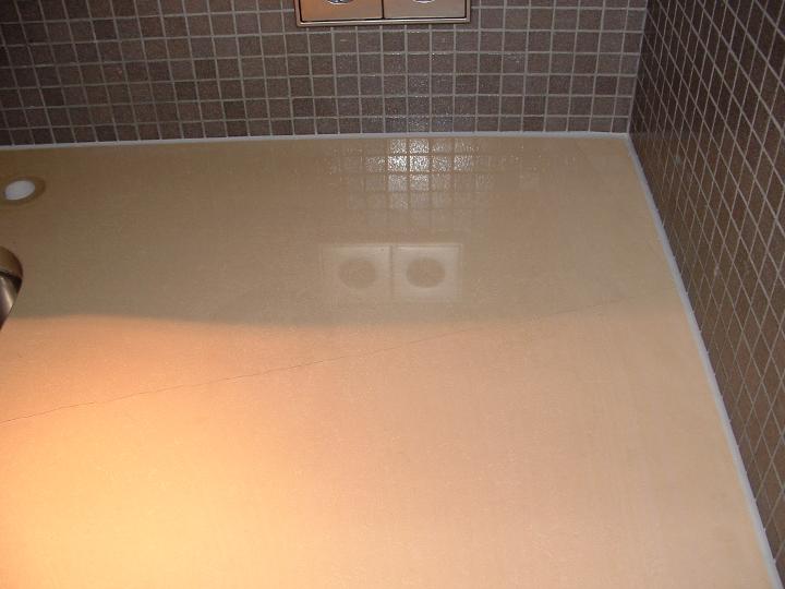 Kalkstein reinigen - Verkalkungen gereinigt