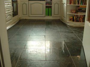 granitplatte polieren
