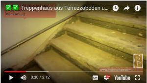 Altes Terrazzo Treppenhaus renovieren Beispiele.