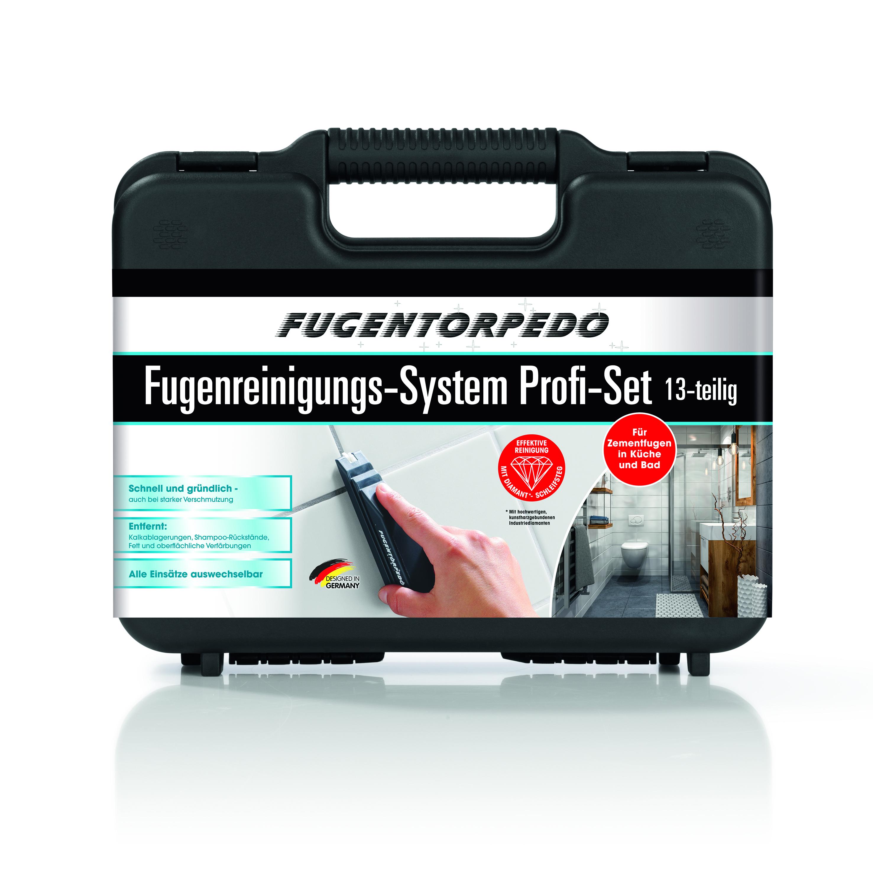 Fugentorpedo Profikoffer - Fugeneinigung wie die Profis